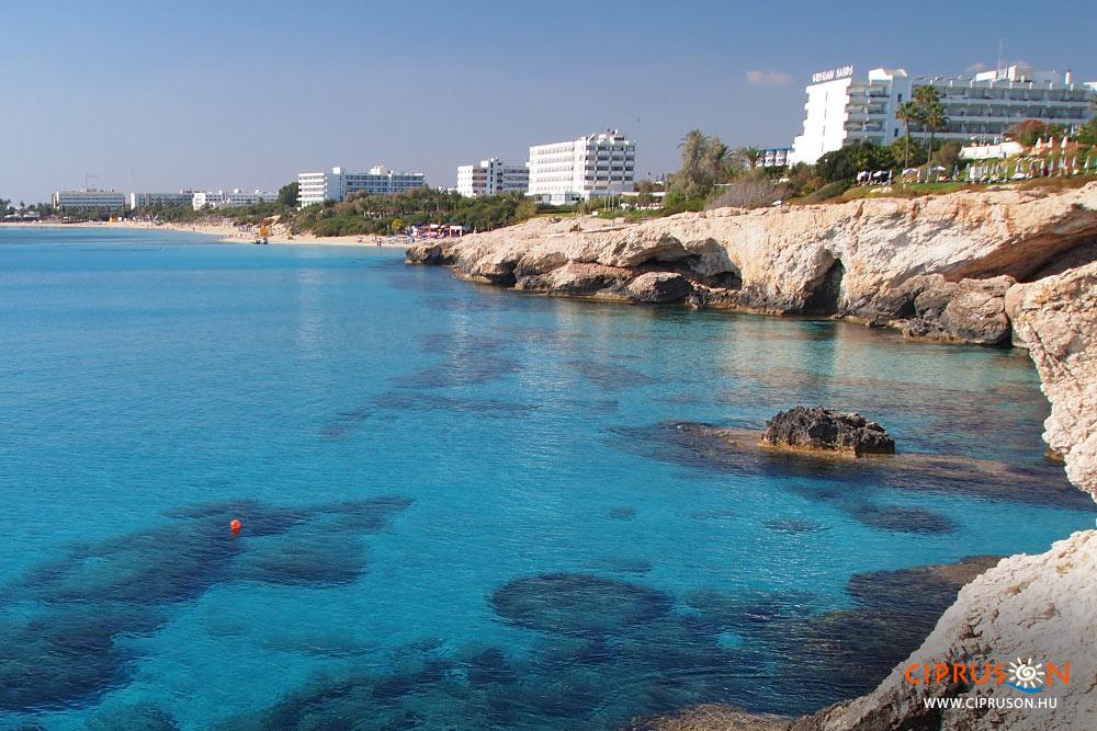 Agia Napa beach Ciprus