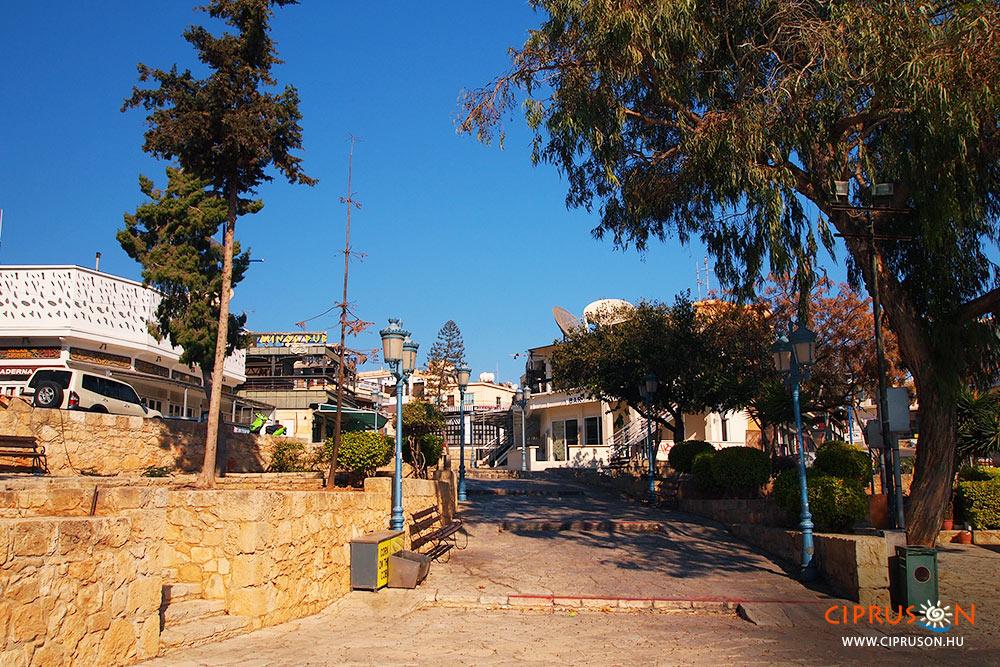 Agia Napa utca