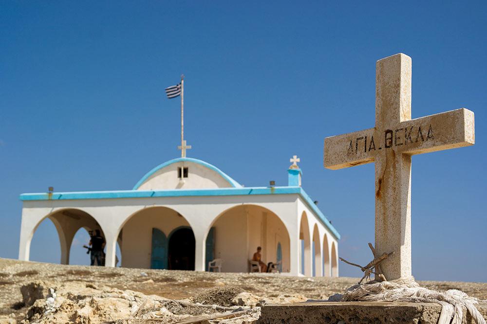 Ciprus templom Agia Napában