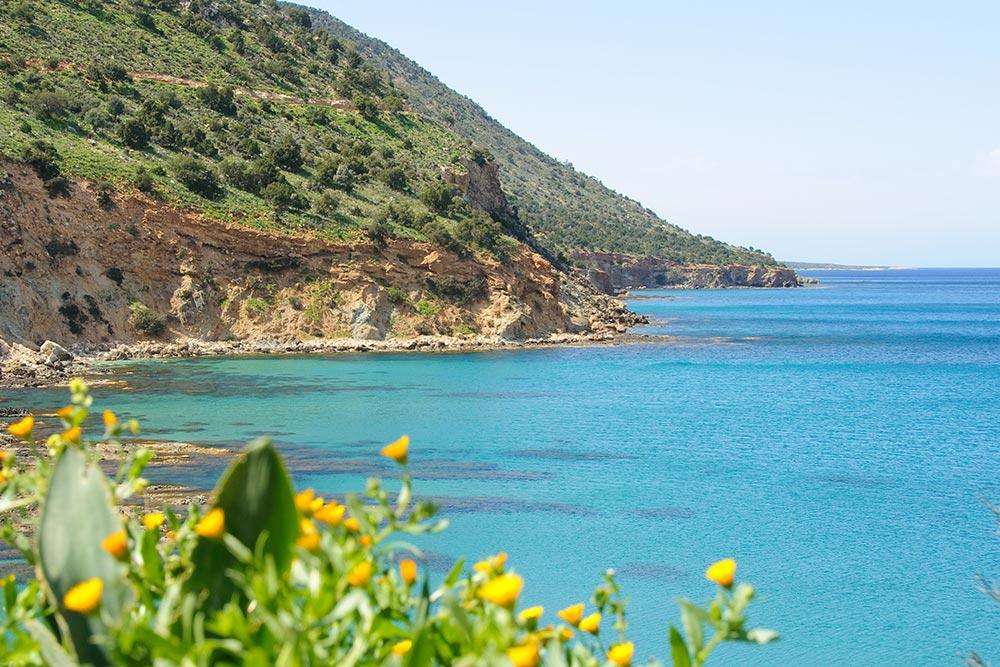 Az Akamas félsziget Páfosz közeli látnivaló