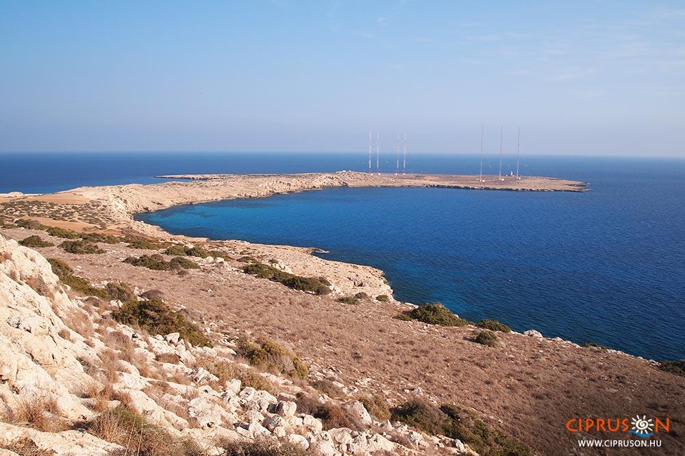 Cape Greco, Ciprus keleti pontja
