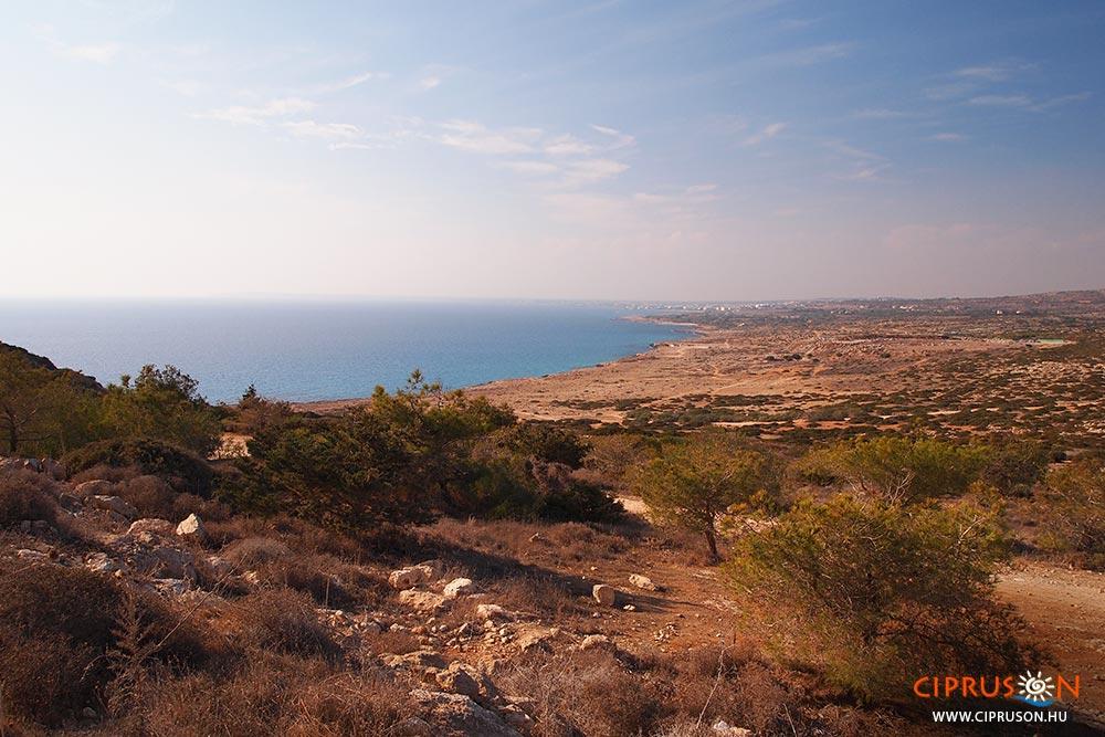 Cape Greco Ayia Napa közelében fekvő látnivaló