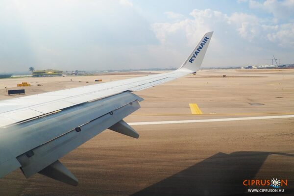 Ciprus repülővel