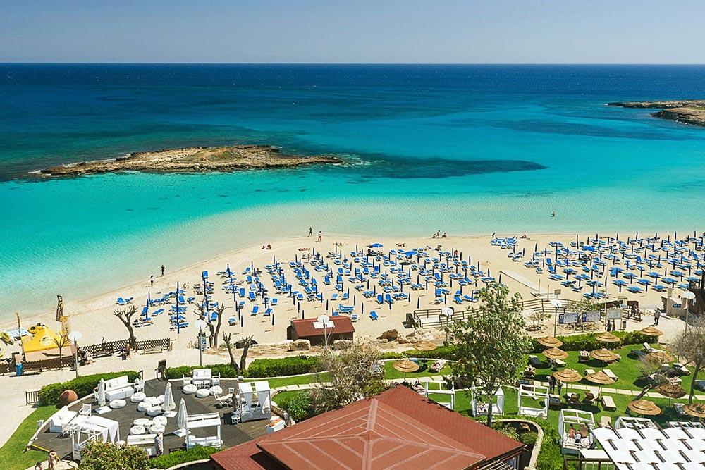 Fig Tree Bay Ciprus, Protaras strandjai