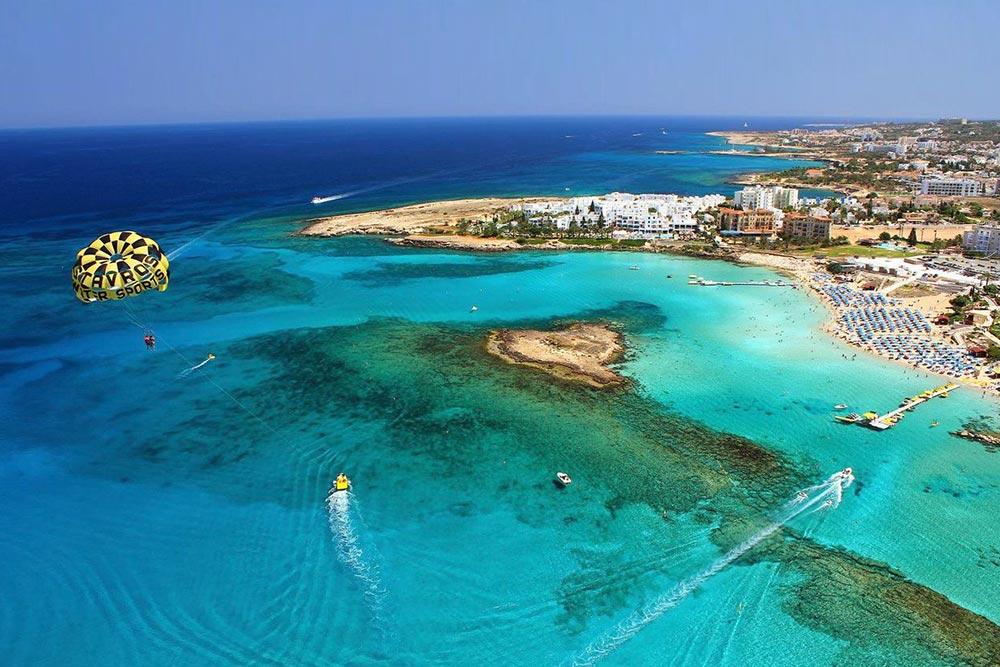 Fig Tree Bay, Ciprus keleti részének egyik legszebb strandja Protarasban