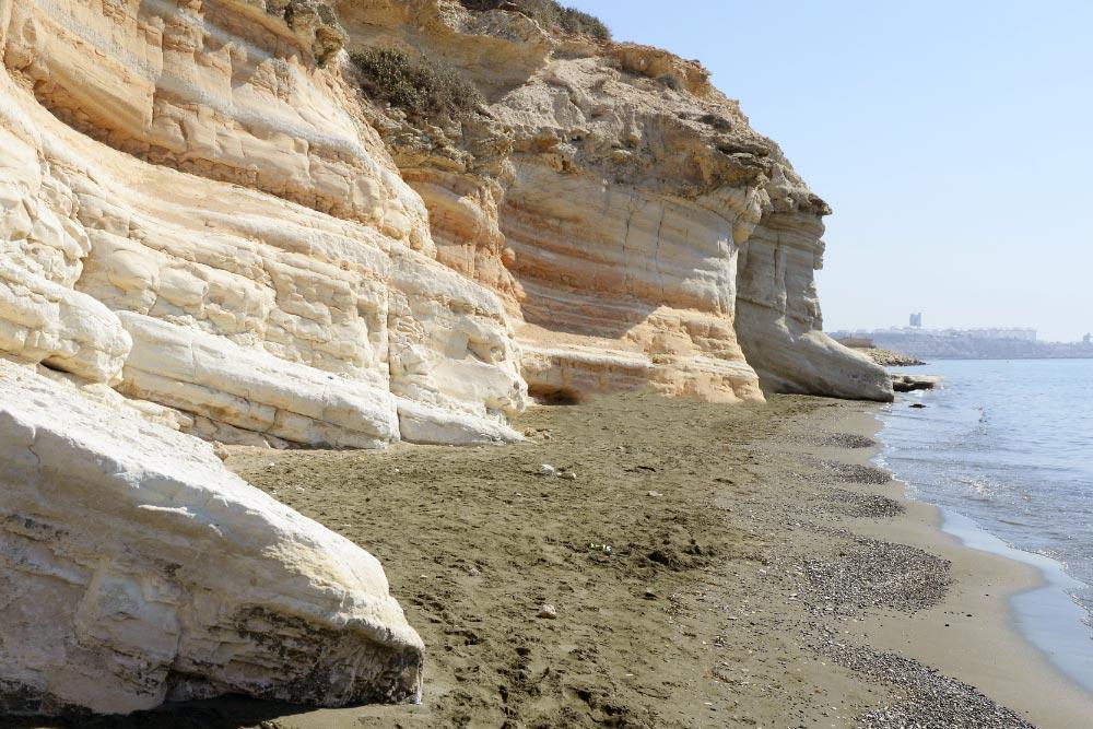 Governors beach Ciprus strandjai