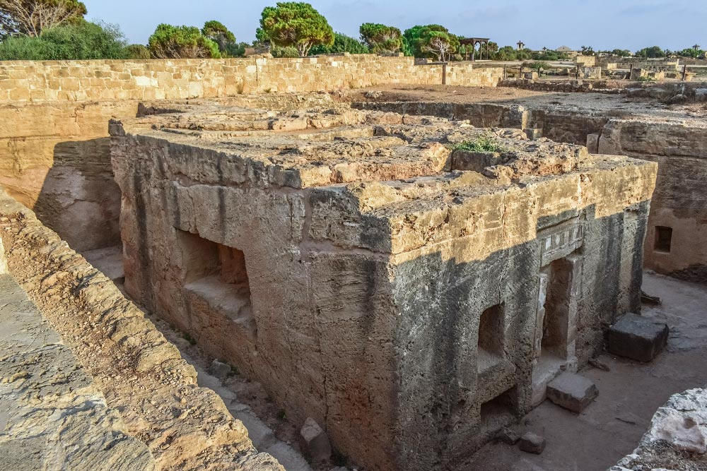 A Királysirok Páfosz látnivalóinak egyike