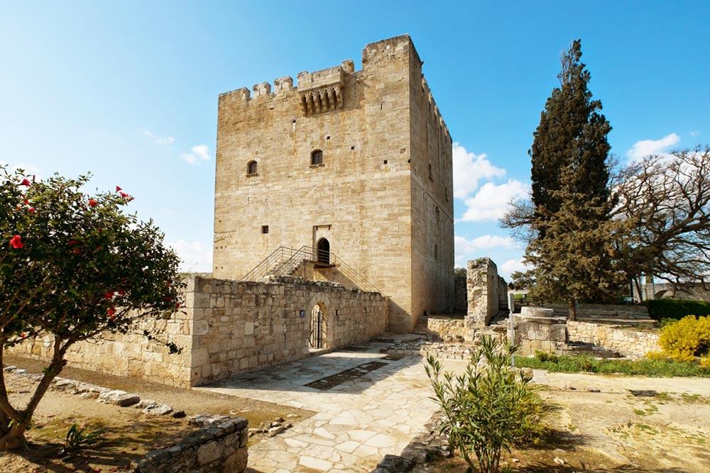 Kolossi vár, Ciprus nyugati látnivalói