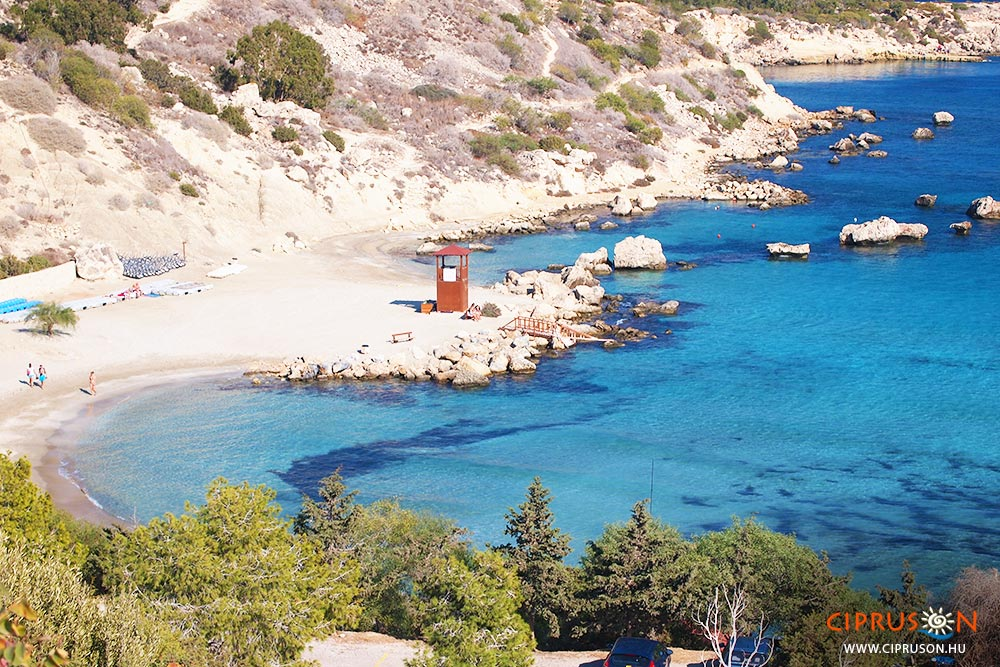 Konnos beach, Ciprus egyik legszebb strandja