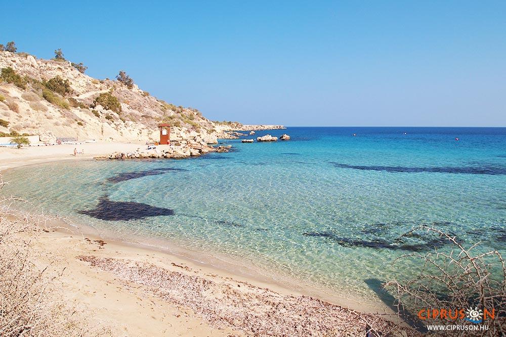 Konnos beach, Agia Napa és Protaras strandja