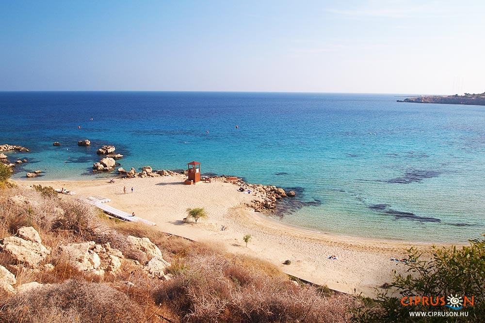 Konnos beach, Protaras legszebb strandjai
