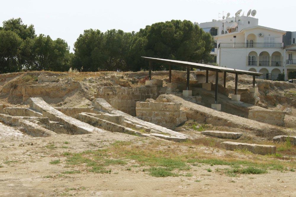 Larnaka történelmi és régészeti látnivalói Kition ősi városa