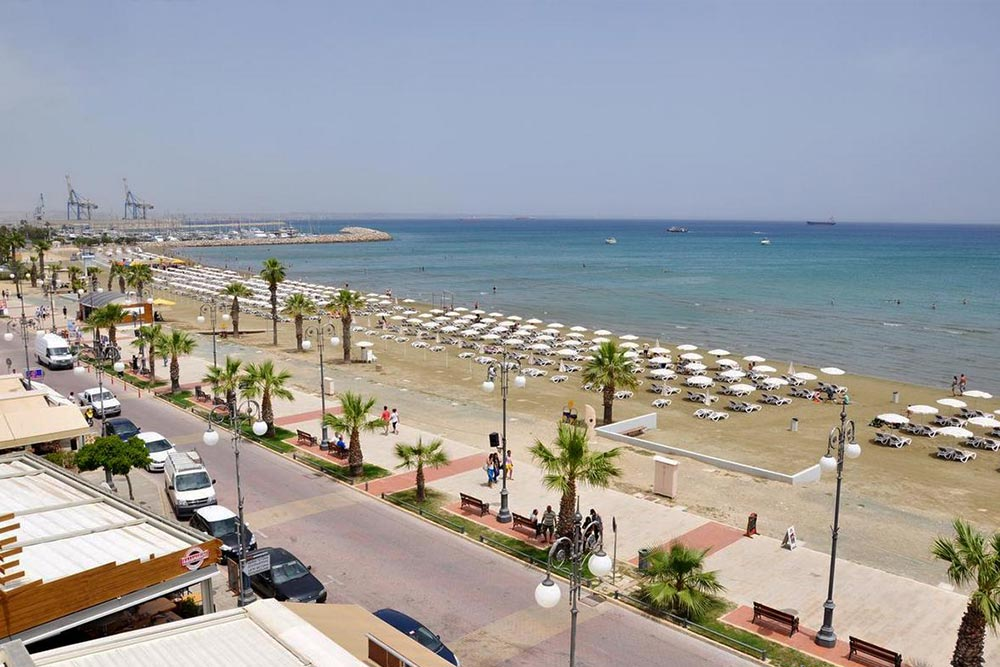 Larnaka strand