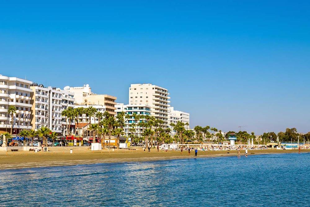Larnaka strandja