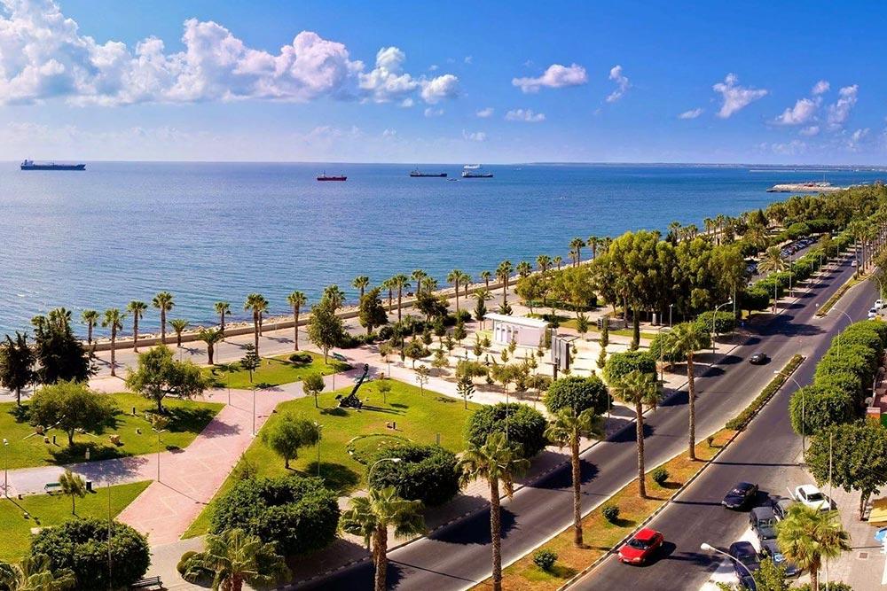 Larnaka tengerpartja