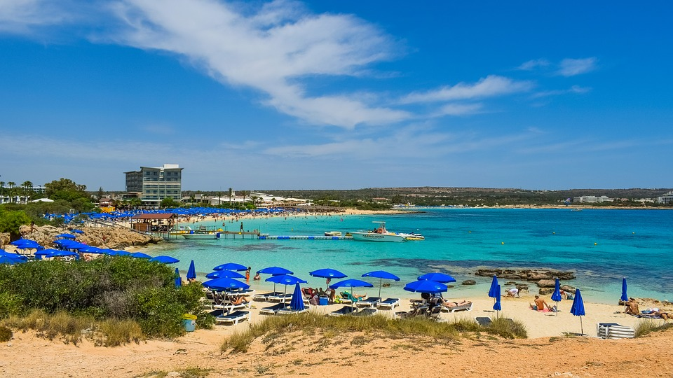Makronissos beach, Agia Napa legjobb strandjai Ciprus