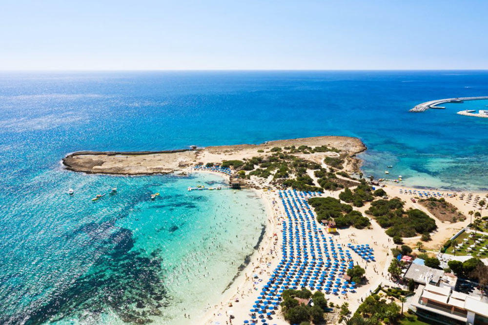 Makronissos beach, Agia Napa Ciprus