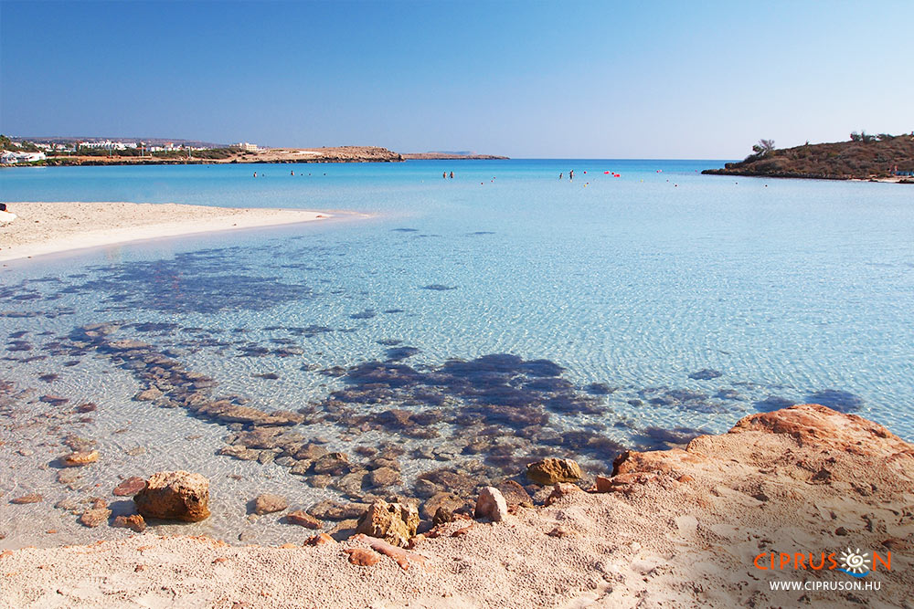 Nissi beach, Ciprus legszebb strandjai