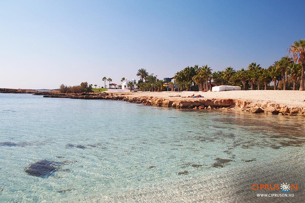Nissi beach Agia Napa Ciprus