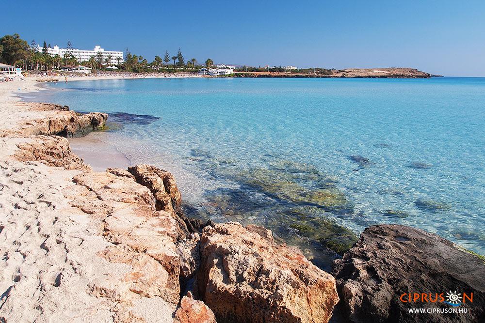 Nissi lagúna, Nissi sziget Agia Napa nyaralás