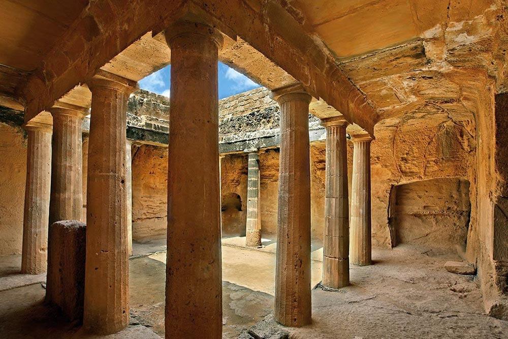 A páfoszi királysírok Ciprus egyik legszebb történelmi látnivalója