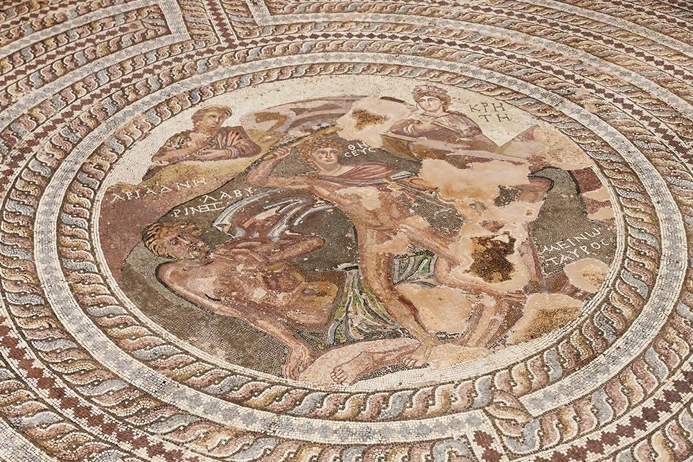 Páfoszi Mozaik a Régészeti Parkban