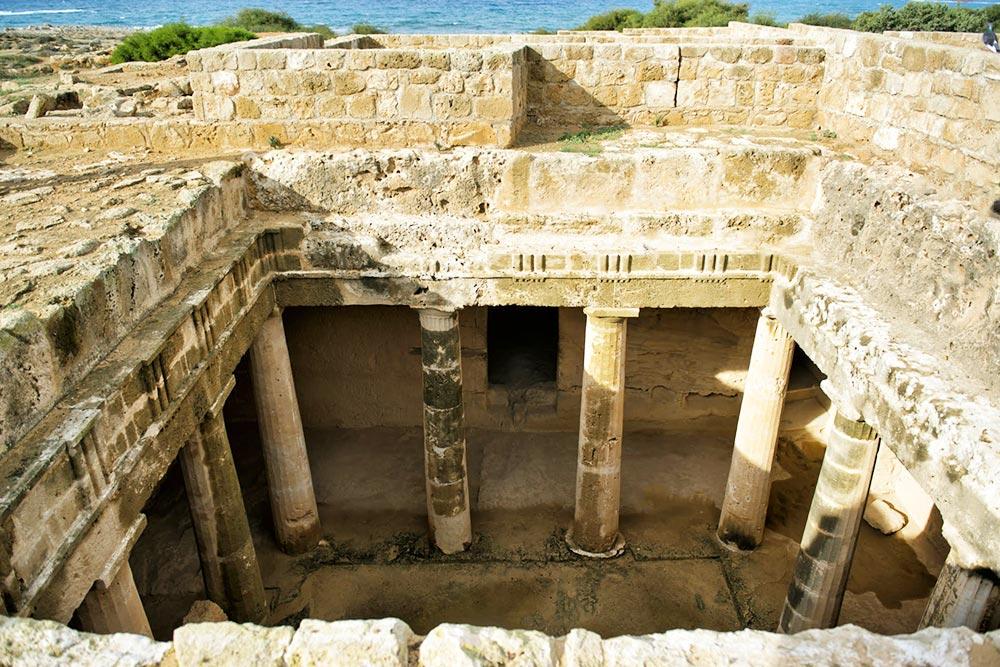 A páfoszi királysírok Ciprus legszebb látnivalói közé tartoznak
