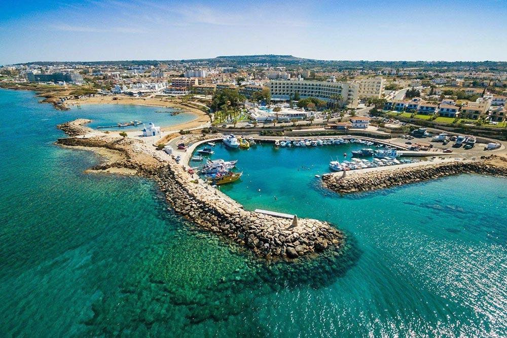 Protaras strandjai és kikötője, Cipruson