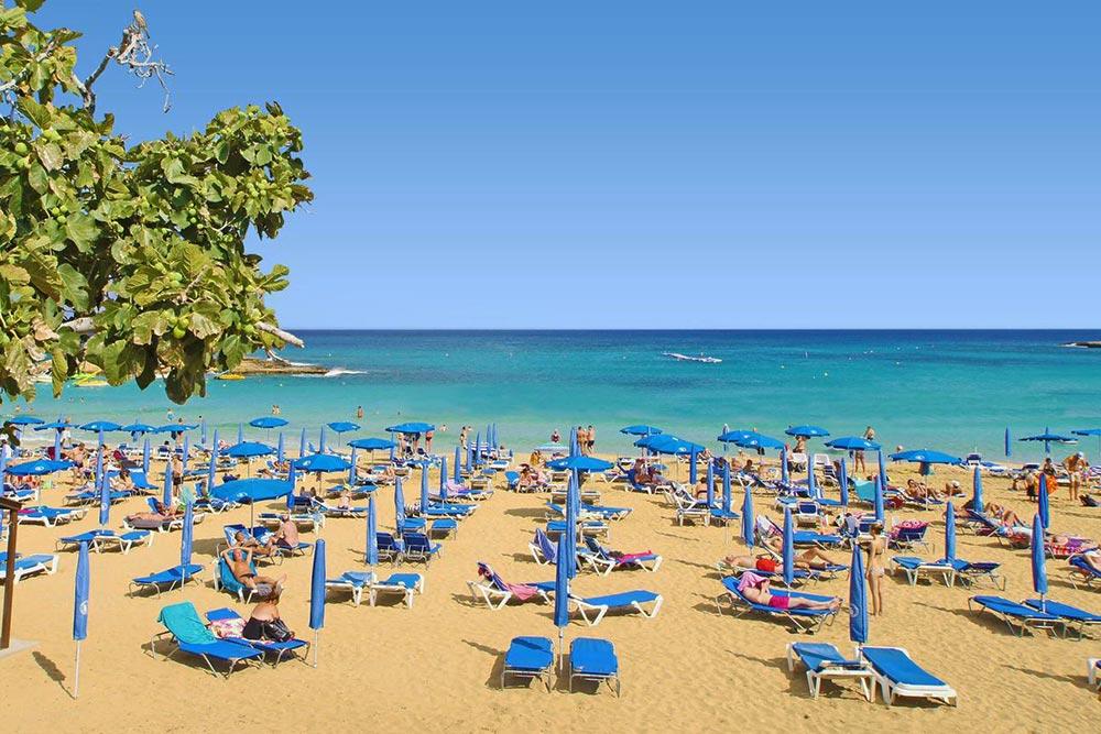 Protaras strandjai Ciprus keleti részén