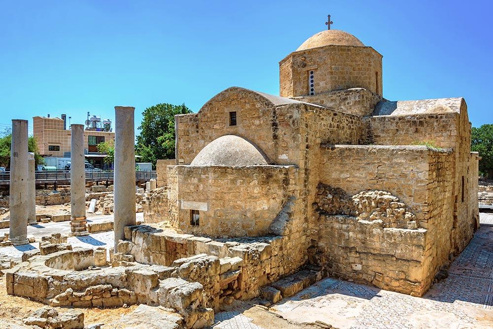 Agia Kyriaki, Szent Pál oszlopa Páfosz egyik legszebb látnivalója